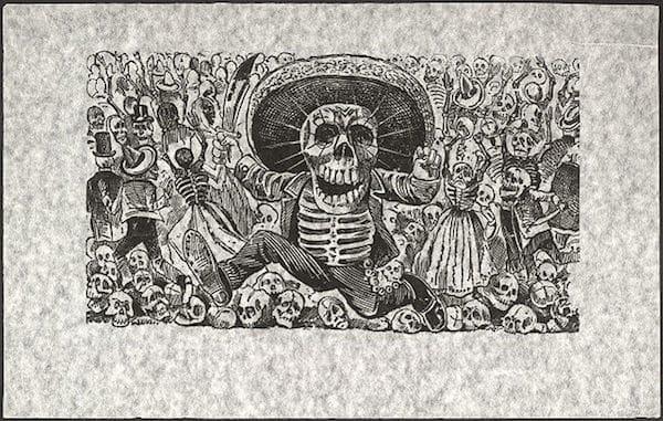 Calavera Oaxaqueña - Posadas 1910