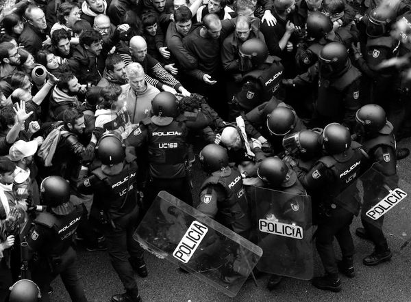 Referendum and repression in Catalonia