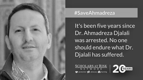 Call for support for the release of Dr. Ahmadreza Djalali